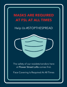 FSL Face Mask Flyer